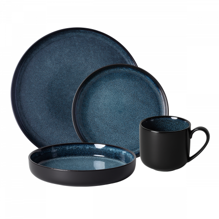 Porcelánový set 16 ks - Gaya RGB Night Sky Lunasol