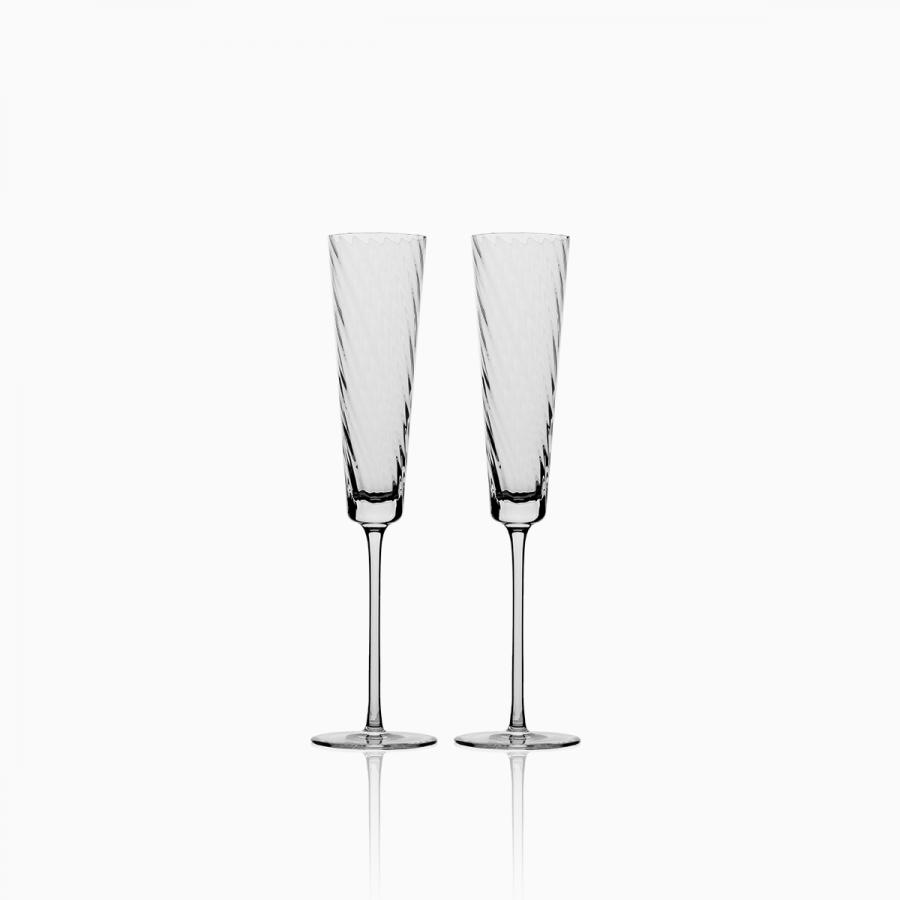 07d187d5cb4fb Poháre na šampanské 130 ml set 2 ks - Gaya Glas Premium